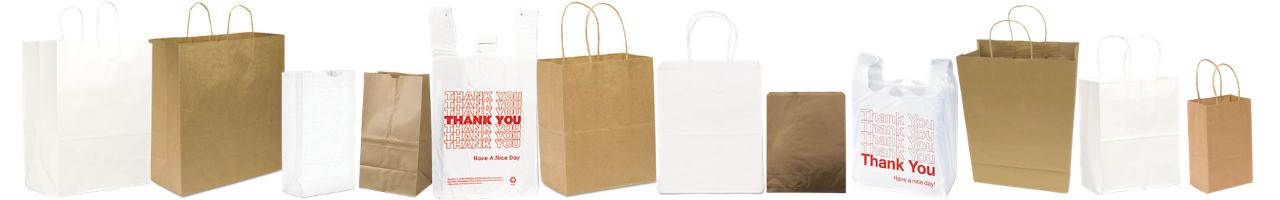 Shopping & Merchandise Bags