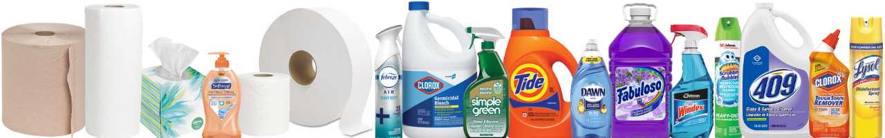 Restroom & Cleaning Supplies