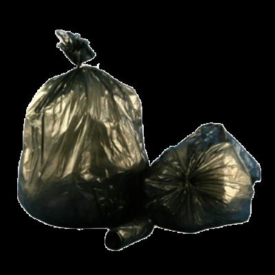 40x46 Trash Can Liners Black EQ 1.5 Mil 100//case