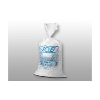"""Elkay Plastics H11PMET 8 lb Ice Bags, Plastic, 8"""" x 3"""" x 20"""" - 1000 / Case"""