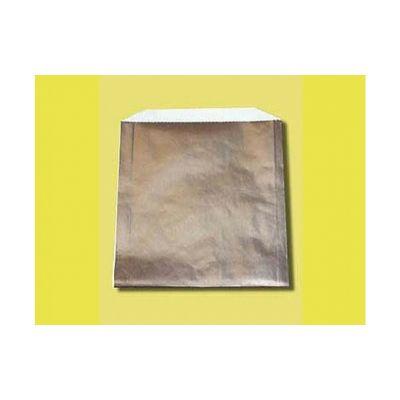 """Fischer Paper 806 Foil Paper Lined Sandwich Bags, 6"""" x 3/4"""" x 6-1/2"""" - 1000 / Case"""