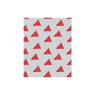 "McNairn 811140 Insul-Wrap Sandwich Sheets, 10.5"" x 13"", Red Print - 2500 / Case"