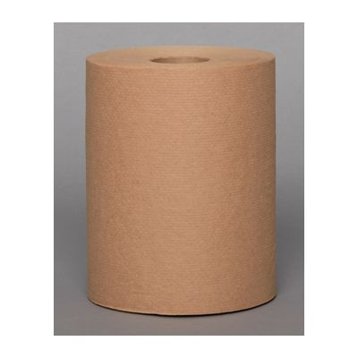 "Vintage MRT1775 Hardwound Paper Roll Towels, 7-7/8"" x 350', Brown - 12 / Case"