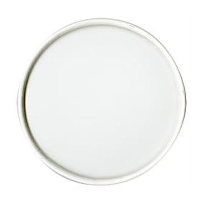 Dart Solo CA64A-4000 Paper Lid for 64 oz Flexstyle Paper Food Container, Non-Vented, White - 300 / Case