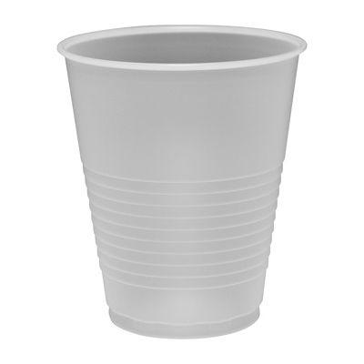 Dart Y12S Conex Galaxy 12 oz Squat Plastic Cold Cups, Polystyrene, Translucent - 1000 / Case