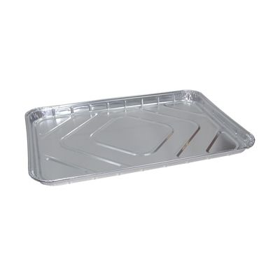 "Pactiv 600680 Full Sheet Aluminum Foil Cake Pans, 25-13/16"" x 17-13/16"" x 1-11/32"", 240 oz - 25 / Case"
