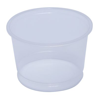 Mullinix 4600-28 16 oz Deli Tubs, Polypropylene, Clear - 500 / Case