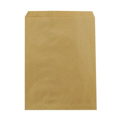 "Duro 14852 Notion Paper Merchandise Bags, 30#, 8.5"" x 11"", Kraft - 2000 / Case"