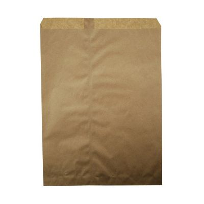 "Duro 14898 Millinery Paper Merchandise Bags, 30#, 10"" x 13"", Kraft - 1000 / Case"
