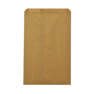 "Duro 14956 Millinery Paper Merchandise Bags, 30#, 10"" x 2"" x 15"", Kraft - 1000 / Case"