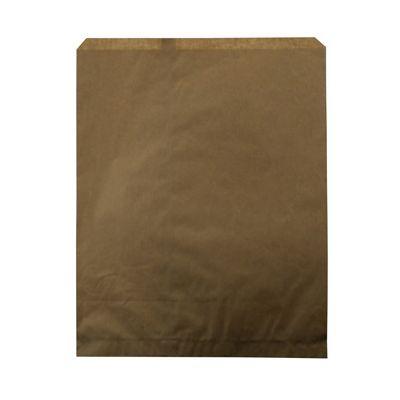 "Duro 14871 Millinery Paper Merchandise Bags, 30#, 12"" x 15"" Kraft - 1000 / Case"
