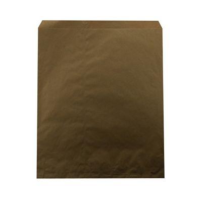 "Duro 14905 Millinery Paper Merchandise Bags, 30#, 15"" x 18"" Kraft - 500 / Case"