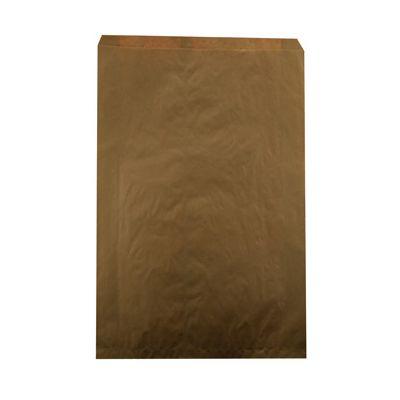 "Duro 14888 Millinery Paper Merchandise Bags, 30#, 14"" x 3"" x 21"", Kraft - 500 / Case"