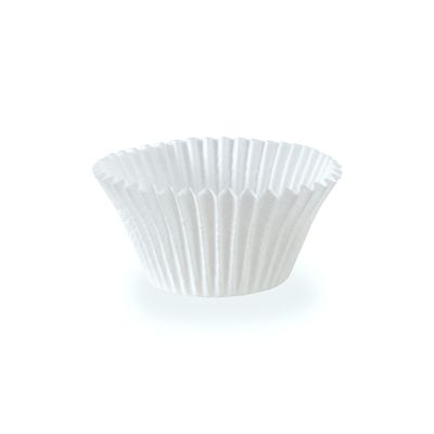 Hoffmaster 610070 / 30EX Baking Cups, Dry Wax Paper, White - 10000 / Case