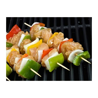 "AmerCareRoyal R806 6"" Bamboo Skewers - 12000 / Case"