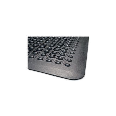 Genuine Joe 70373 Rubber Anti-Fatigue Floor Mat, 3' x 5' - 1 / Case