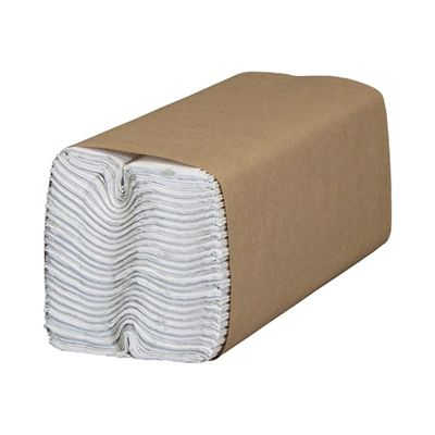 "Cascades H180 Select C-Fold Paper Hand Towels, 10"" x 13"", White - 2400 / Case"
