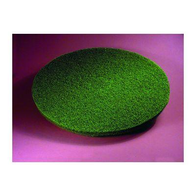 "ACS 55-20 20"" Green Floor Scrubbing Pads - 5 / Case"