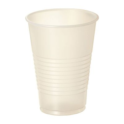 Dart Y7 Conex Galaxy 7 oz Plastic Cold Cups, Polystyrene, Translucent - 2500 / Case