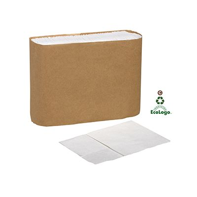 Essity D6311A Tork Universal Lowfold Paper Dispenser Napkins, 1 Ply, White - 8016 / Case