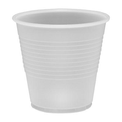 Dart Y5 Conex Galaxy 5 oz Plastic Cold Cups, Polystyrene, Translucent - 2500 / Case