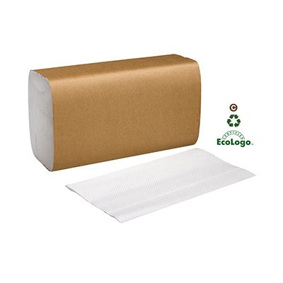 "Essity SB1840A Tork Universal Singlefold Paper Hand Towels, 1 Ply, 10.3"" x 9.1"", White - 4000 / Case"