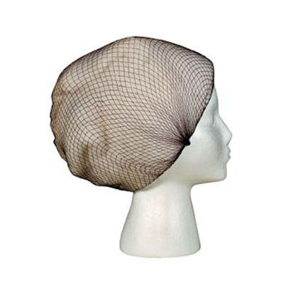 "Cellucap HN-400 Nylon Hair Nets, 22"", Dark Brown - 1440 / Case"