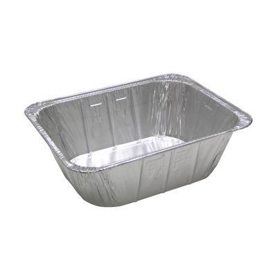 """Pactiv 6342-60 Half Size Aluminum Foil Steam Table Pans, 11-3/4"""" x 9-3/8"""" x 4-3/16"""", 187 oz - 100 / Case"""