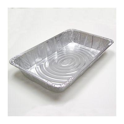 """Pactiv Y6050XH Full Size Aluminum Foil Steam Table Pans, 19-9/16"""" x 11-5/8"""" x 3-3/8"""", 346 oz - 40 / Case"""