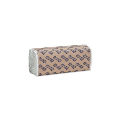 "Genuine Joe 21120 C-Fold Paper Hand Towels,1 Ply, 13"" x 10-1/8"", White - 2400 / Case"