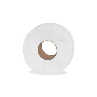"Genuine Joe 2506008 Jumbo Roll Toilet Paper, 2 Ply, 9"" x 1000' - 8 / Case"