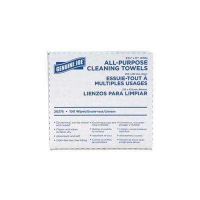 Genuine Joe 20275 All-Purpose Cleaning Towels - 1000 / Case