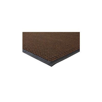 Genuine Joe 58843 Waterguard Indoor / Outdoor Floor Mat, 4' x 6' - 1 / Case