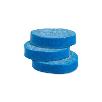 Genuine Joe 58333 Urinal Toss Blocks, Non-Para, Cherry - 144 / Case