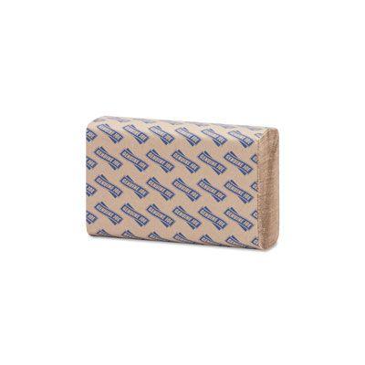 """Genuine Joe 21040 Multifold Paper Hand Towels, 9.4"""" x 9.25"""", Brown - 4000 / Case"""