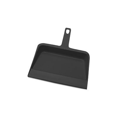 "Genuine Joe 2406 Dust Pan, Heavy Duty Plastic, 12"" - 12 / Case"