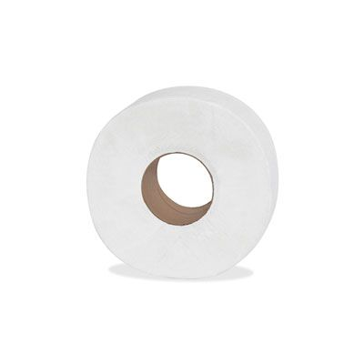 "Genuine Joe 2565012 Jumbo Roll Toilet Paper, 2 Ply, 8.63"" x 650' - 12 / Case"