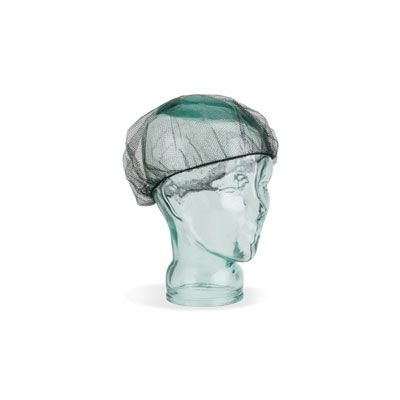 Genuine Joe 85135 Hair Nets, Nylon, Black - 1000 / Case