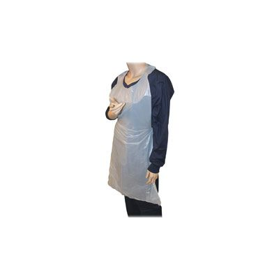 Genuine Joe 85141 Disposable Poly Aprons - 1000 / Case