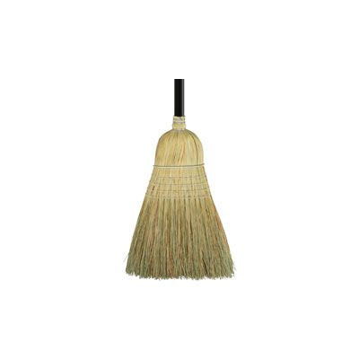 Genuine Joe 12001 Warehouse Broom with Wood Handle - 6 / Case
