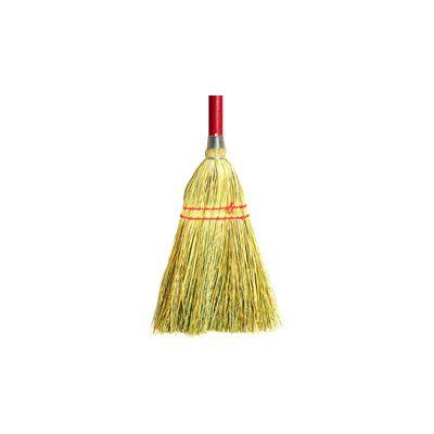 """Genuine Joe 12501 Lobby Toy Broom, 34"""" Wood Handle - 12 / Case"""