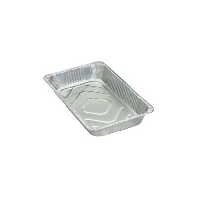 Genuine Joe 10703 Full Size Aluminum Foil Steam Table Pans, 280 oz - 50 / Case