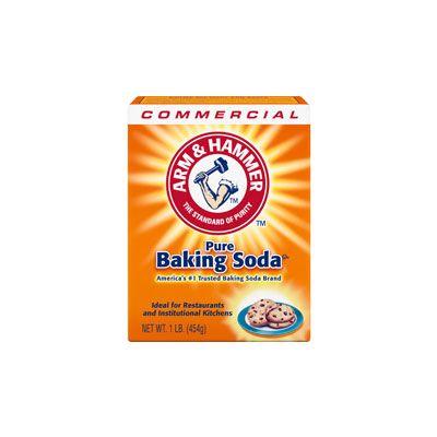 Arm & Hammer 3320084104 Baking Soda, 1 lb Box - 24 / Case