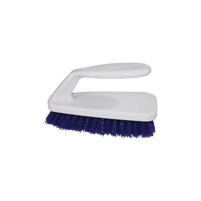Genuine Joe 99658 Iron Handle Scrub Brush - 6 / Case