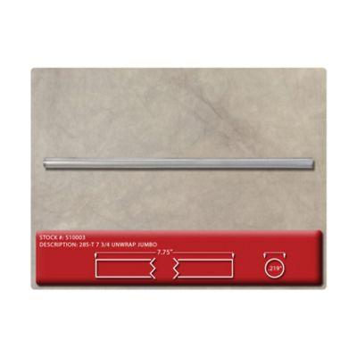 "Cardinal Straws 510003 7.75"" Jumbo Plastic Drinking Straws, Translucent - 12500 / Case"
