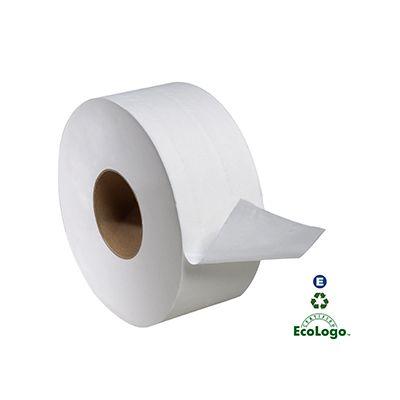 "Essity TJ0922A Tork Universal Jumbo Roll Toilet Paper, 2 Ply, 8.8"" x 1000' - 12 / Case"
