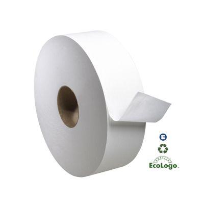 "Essity TJ1212A Tork Universal Jumbo Roll Toilet Paper, 1 Ply, 11.8"" x 4000', 3.3"" Core - 6 / Case"