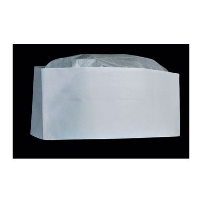Cellucap RC1WT Paper Overseas Hat, Low Profile Cap, White - 1000 / Case