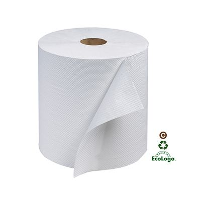 "Essity RB800 Tork Advanced Hardwound Roll Paper Hand Towels, 7.875"" x 800', White - 6 / Case"
