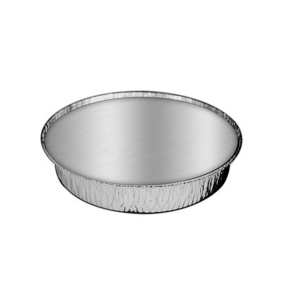 "HFA 2046-30-250W Handi-foil 9"" Aluminum Foil Carryout Containers and Board Lids, 48 oz - 250 / Case"